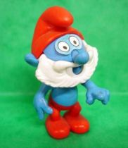 The Smurfs - Premium Knockdown Figure Kinder Surprise - Papa Smufr