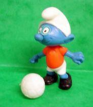 The Smurfs - Premium Knockdown Figure Kinder Surprise - Soccer Smufr
