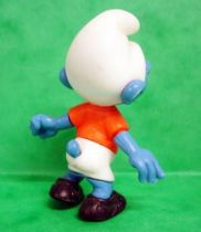 The Smurfs - Premium Knockdown Figure Kinder Surprise - Soccer Smufr