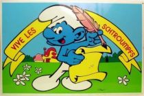 The Smurfs - Retailer advertising - Vive les schtroumpfs