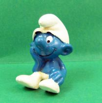 The Smurfs - Schleich - 20027 Thinker Smurf