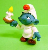 The Smurfs - Schleich - 20060 Sleeper with candle Smurf