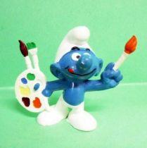 The Smurfs - Schleich - 20089 Artist Smurf