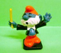 The Smurfs - Schleich - 20092 PaPa Smurf orchestre driver
