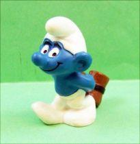 The Smurfs - Schleich - 20096 Wood-hammer Smurf (dark)