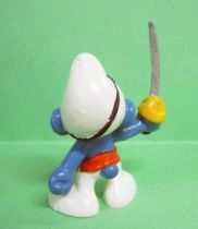 The Smurfs - Schleich - 20104 Pirate Smurf (red belt)