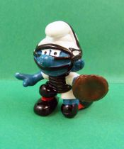 The Smurfs - Schleich - 20146 Baseball Receiver Smurf