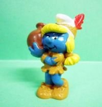 The Smurfs - Schleich - 20167 Indian Smurfette