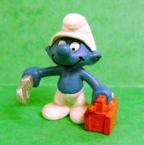 The Smurfs - Schleich - 20187 Handy Plumber Smurf