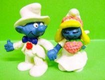 The Smurfs - Schleich - 20412 & 20413 Bride Smurfette & Smurf