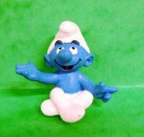 The Smurfs - Schleich - 20423 Yoga Smurf