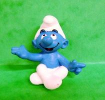 The Smurfs - Schleich - 20423 Yoga Smurf