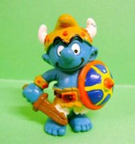 The Smurfs - Schleich - 20430 Viking Smurf