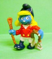 The Smurfs - Schleich - 20433 Horsewoman Smurfette