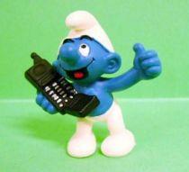 The Smurfs - Schleich - 20438 Smurf with cellular phone