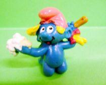 The Smurfs - Schleich - 20448 Baby Smurf in bath (Quick promotional)