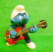 The Smurfs - Schleich - 20449 Guitar rock Smurf