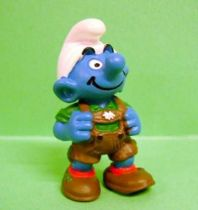 The Smurfs - Schleich - 20461 Smurf with Lederhose