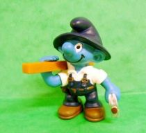 The Smurfs - Schleich - 20471 Carpenter Smurf