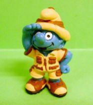 The Smurfs - Schleich - 20475 Safari-Smurf