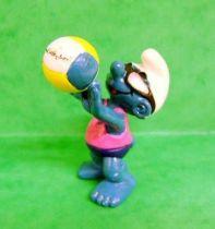 The Smurfs - Schleich - 20477 Beach Volleyball Smurf