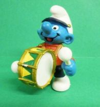 The Smurfs - Schleich - 20494 Smurf on parade playing Large Drum