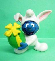 The Smurfs - Schleich - 20496 Easter bunny Smurf
