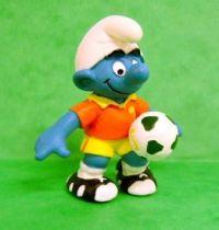 The Smurfs - Schleich - 20527 Soccer Playmaker Smurf