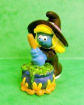 The Smurfs - Schleich - 20547 Halloween Series Witch Smurfette