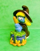 The Smurfs - Schleich - 20547 Halloween Series Witch Smurfette