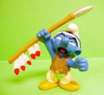 The Smurfs - Schleich - 20550 Idian Smurf with Javelin