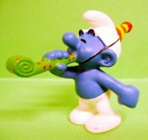 The Smurfs - Schleich - 20705 50th anniversary series Cotillions Smurf