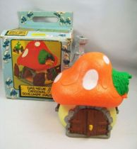 The Smurfs - Schleich - 40001 Smurf  Big House (Loose with Box)