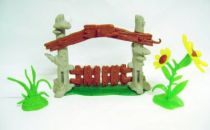 The Smurfs - Schleich - 40050 Smurf Gates - Accessories n°3 (Loose)