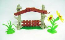 The Smurfs - Schleich - 40050 Smurf Gates - Accessories n°3 (Loose)