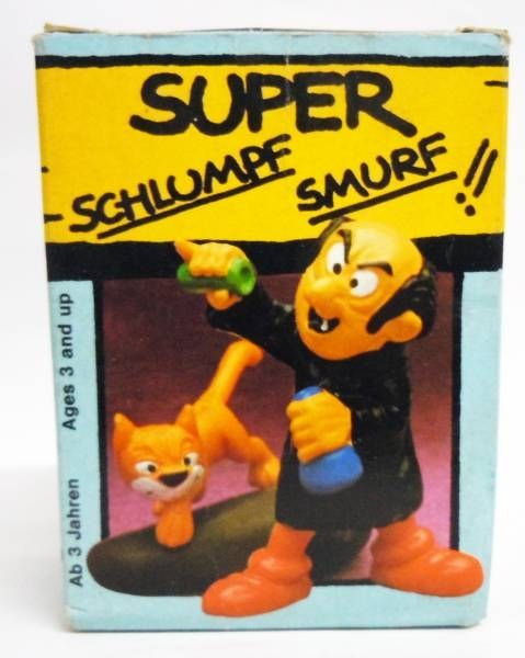 The Smurfs - Schleich - 40211 Gargamel and Azrael (Mint in Box)