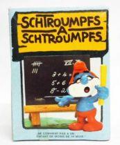 The Smurfs - Schleich - 40224 Papa Smurf teacher (mint in box)