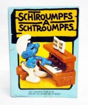 The Smurfs - Schleich - 40229 Smurf with Piano (mint in box)