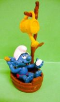 The Smurfs - Schleich - 40235 Smurf in shower with watering-can