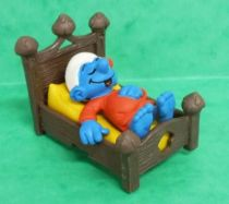 The Smurfs - Schleich - 40240 Smurf in bed