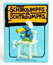 The Smurfs - Schleich - 40242 Smurf Bay Watcher (mint in box)