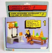 The Smurfs - Schleich - 40601 Gargamel Laboratory Accessories N�1 (Loose in Box)