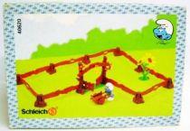 The Smurfs - Schleich - 40620 The Garden Accessories + Figure (Loose in Box)