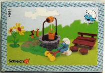 The Smurfs - Schleich - 40621 Smurf Well with Figure Accessories (Mint in New Look Box)