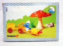 The Smurfs - Schleich - 40622 Snail Cart Deluxe Playset (Mint in box)