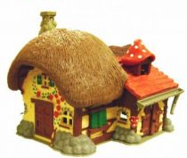 The Smurfs - Schleich - 49025 Smurf Farm (Loose)