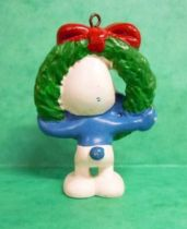 The Smurfs - Schleich - 51906 Christmas Smurf with crown
