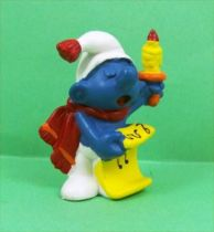 The Smurfs - Schleich - 51909 Christmas Smurf with candle