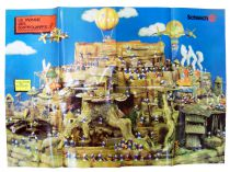 The Smurfs - Schleich - Promotional Poster 1983 (26.8x37.6inch)