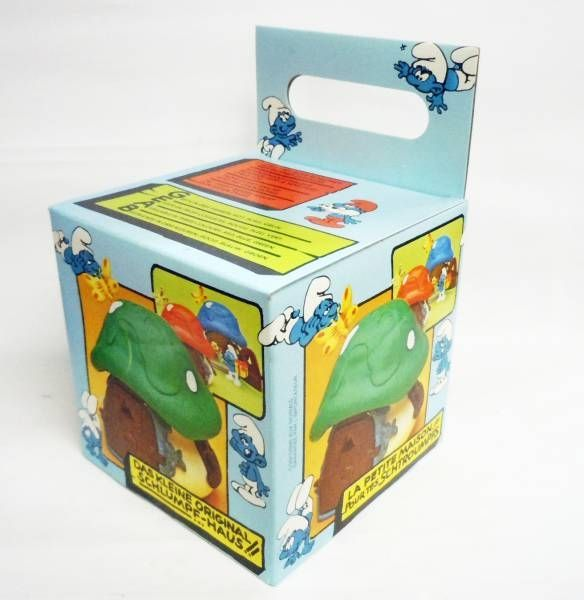 The Smurfs - Schleich 40011 Smurf Little House with Red Roof (mint in box)